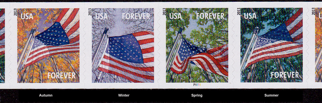 Pnc3 46c Ap Ndn All Seasons Flag Self Adhesive Coil Of 100