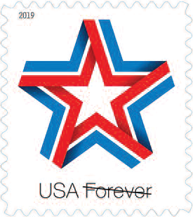Star Ribbon Stamp